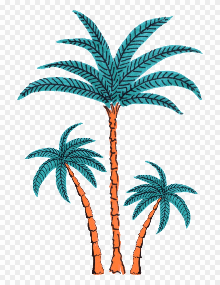 Palm Tree Dancing Sticker By Splash House.