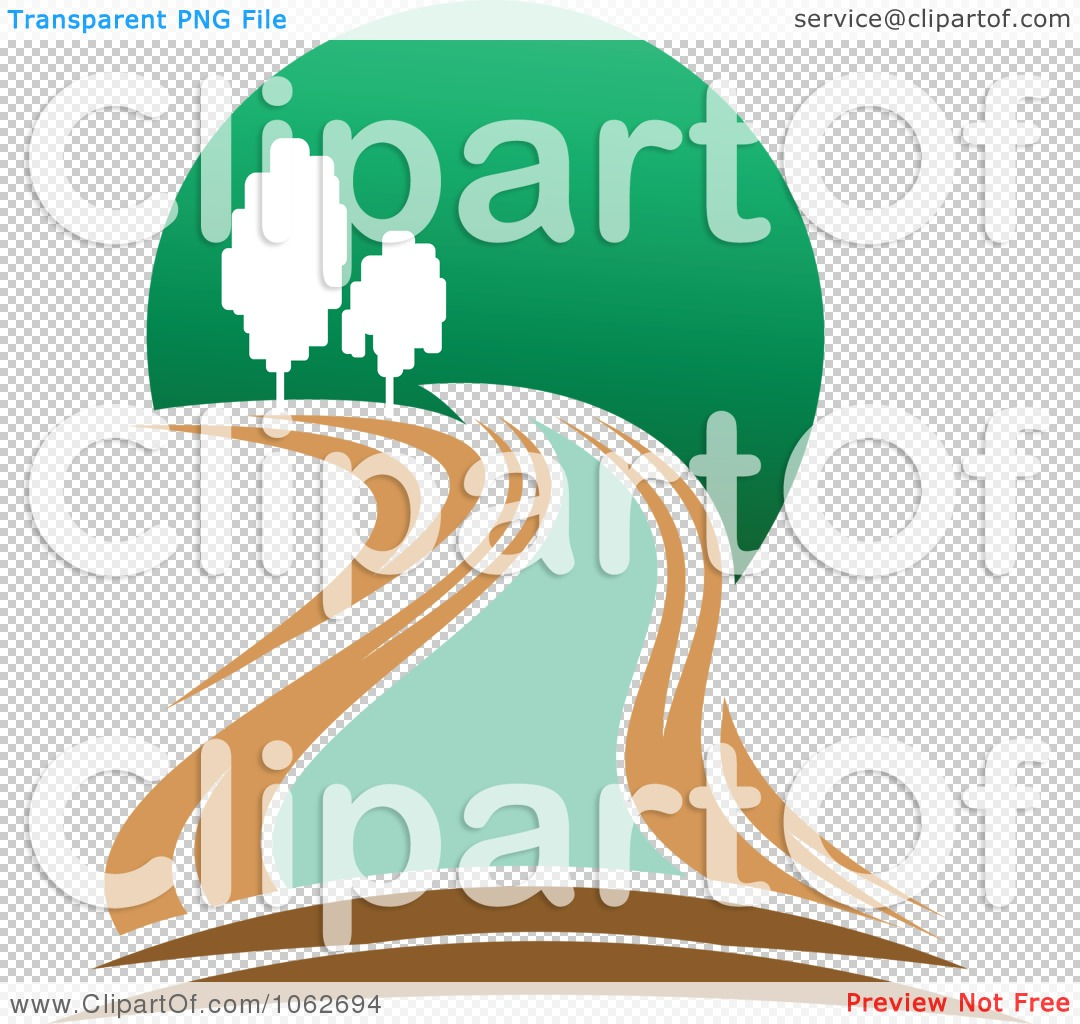 Clipart Nature And River Logo 2.