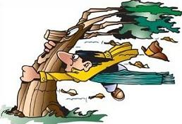 Tree holding weapon clipart.