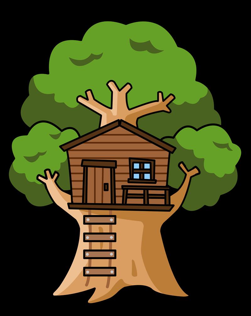 28+ Tree House Clip Art.