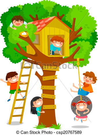 Tree house Stock Illustrations. 37,717 Tree house clip art images.
