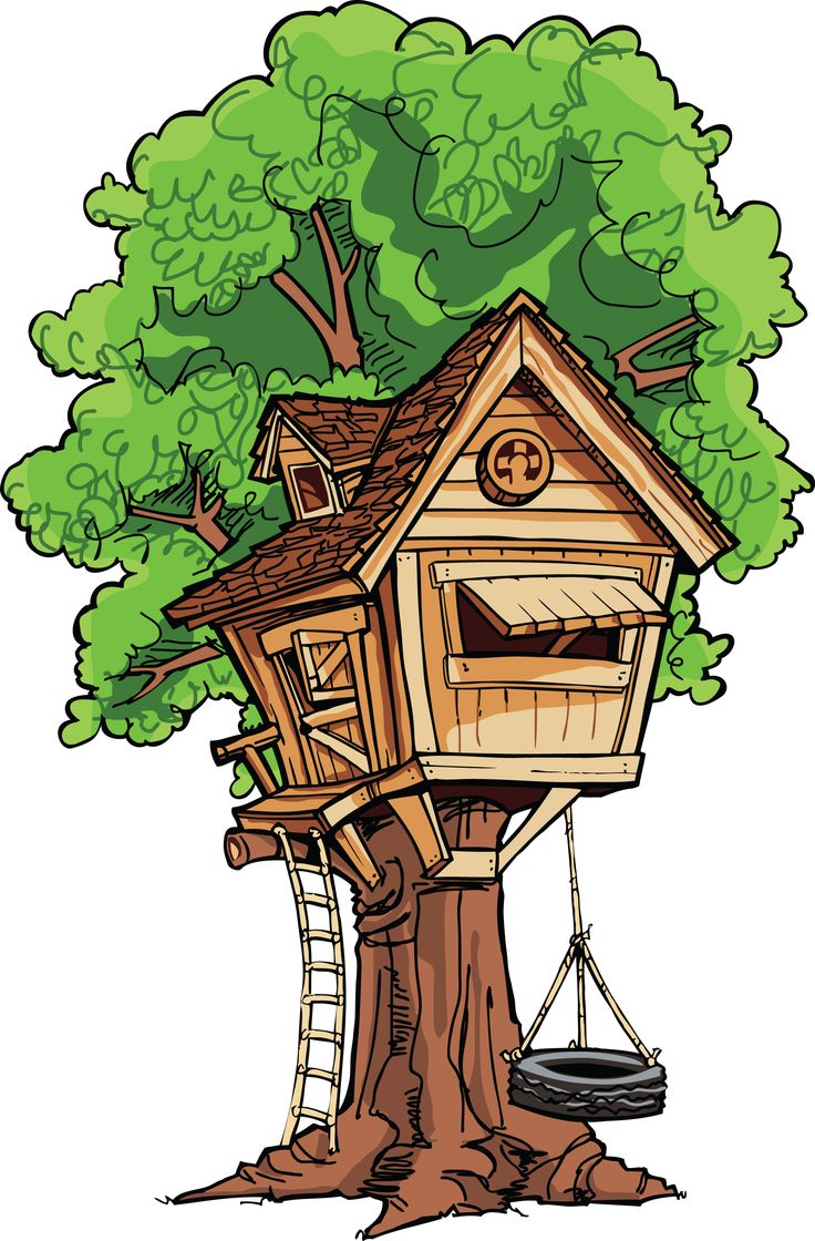 Kids House Drawing: Treehouse Clipart 20 Free Cliparts