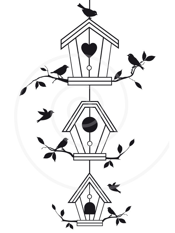 Tree House Clipart.