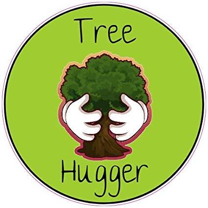 Amazon.com: U.S. Custom Stickers Tree Hugger Sticker, 3.