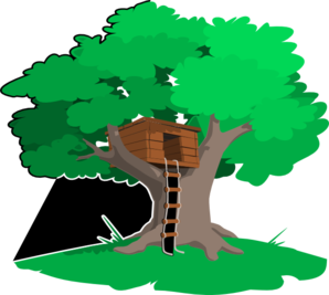 Tree House Clip Art at Clker.com.