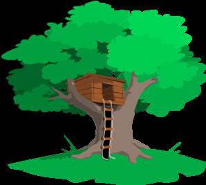 Tree House Clip Art at Clker.com.
