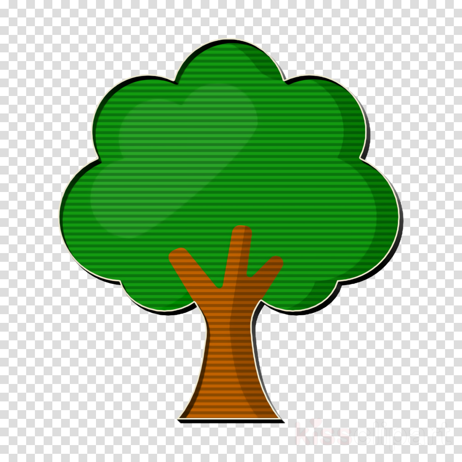 Safari icon Tree icon clipart.