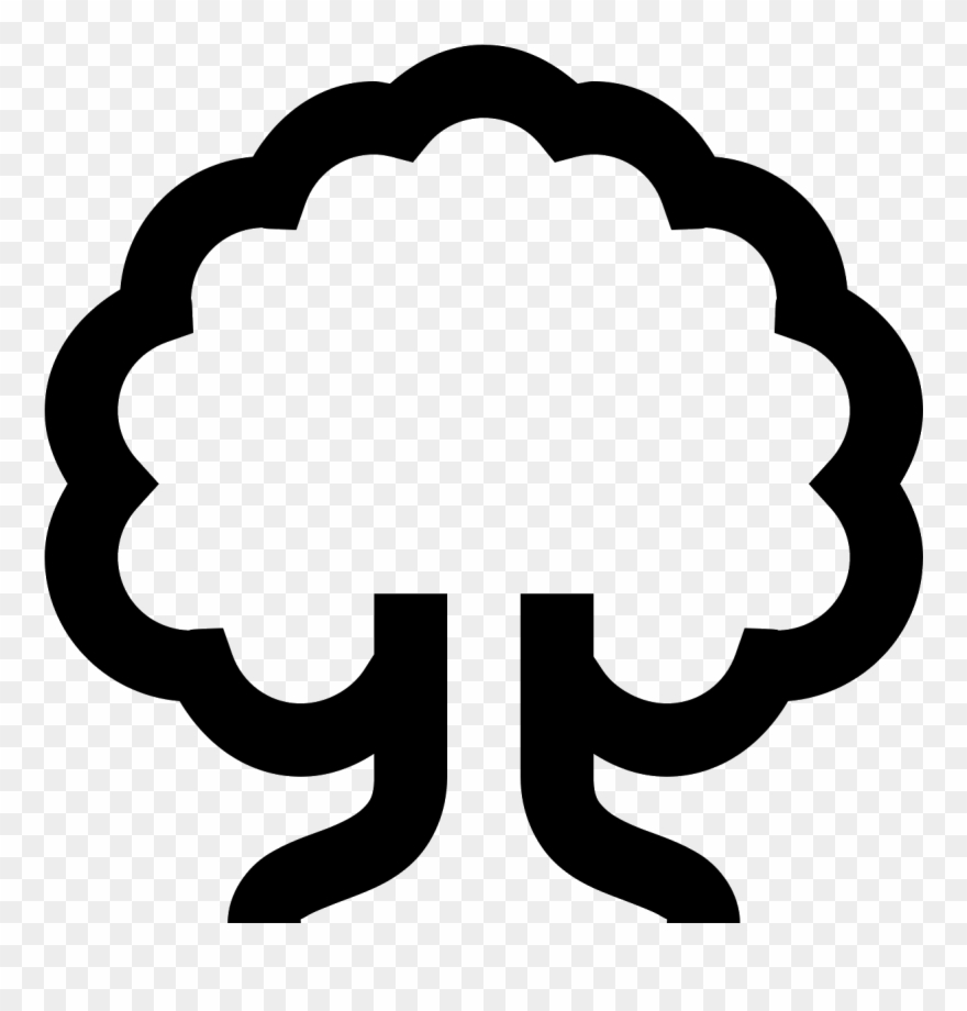 This Icon Is Shaped Like A Tree.
