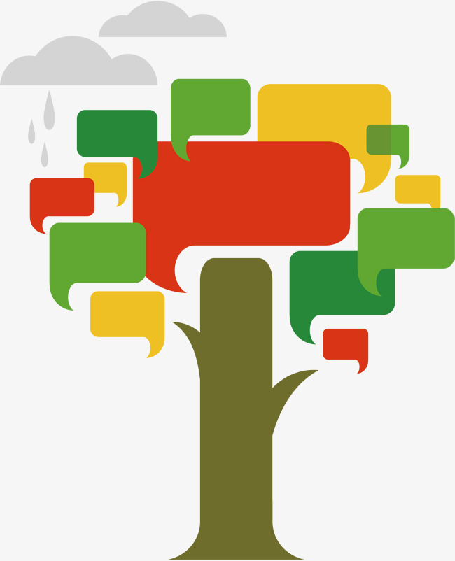 A Rain Tree, Rain Vector, Tree Vector, R #379013.