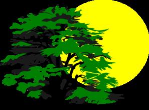 Sun And Tree Clip Art at Clker.com.