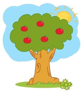 Free Apple Tree Clipart Image 0521.