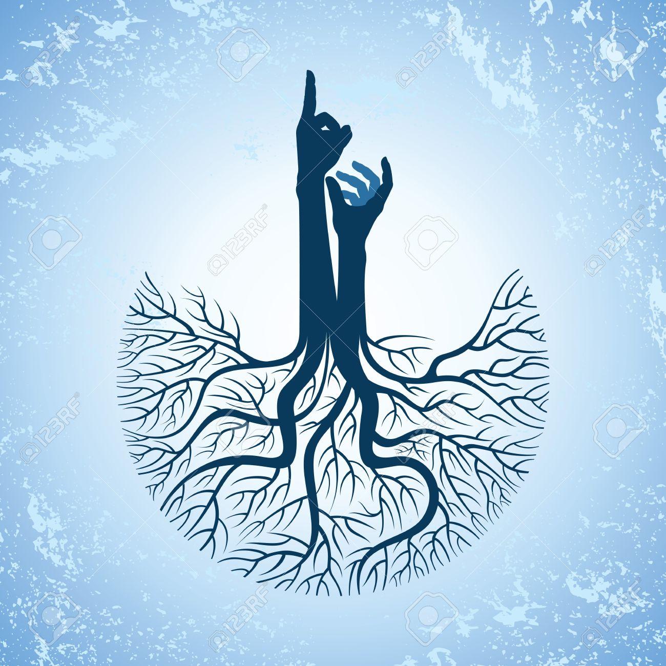 tree labyrinth spiritual clipart #11