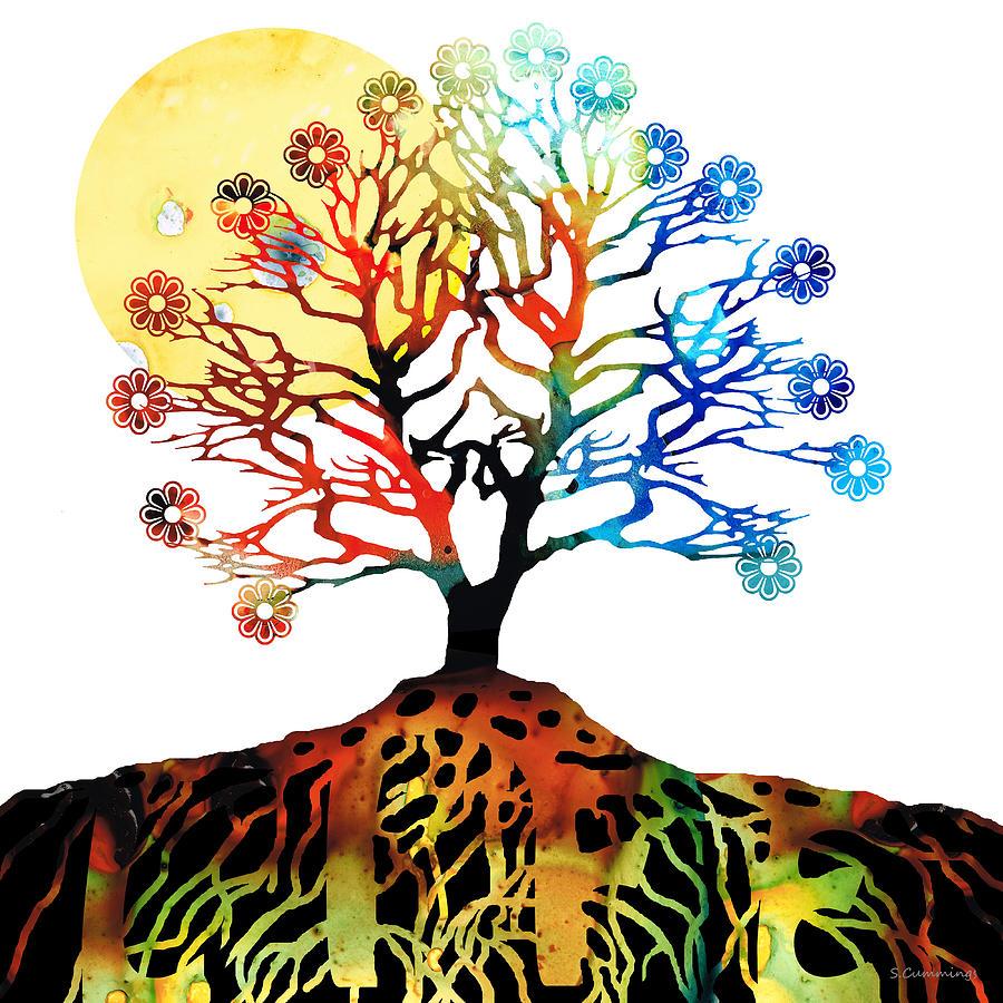 Spiritual Tree Clipart.