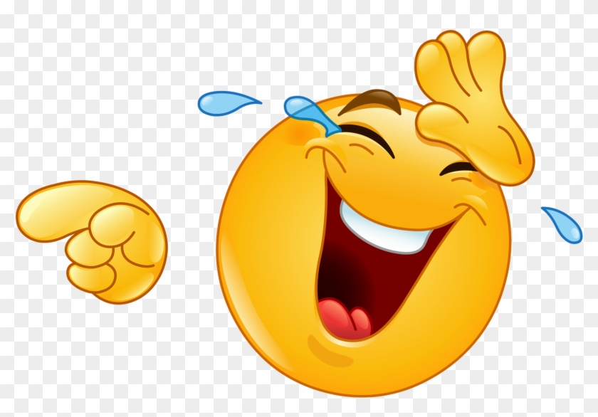 Smiley lol emoticon laughter clip art laughing emoji free.