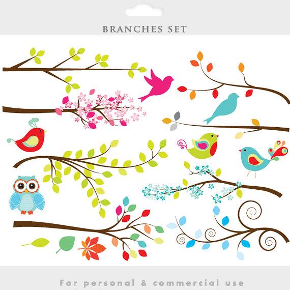 Branch clipart.