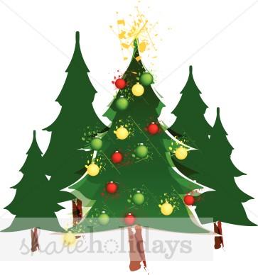 Christmas Tree Clipart, Christmas Tree, Christmas Tree Image.