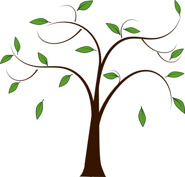 Free clipart tree branches.