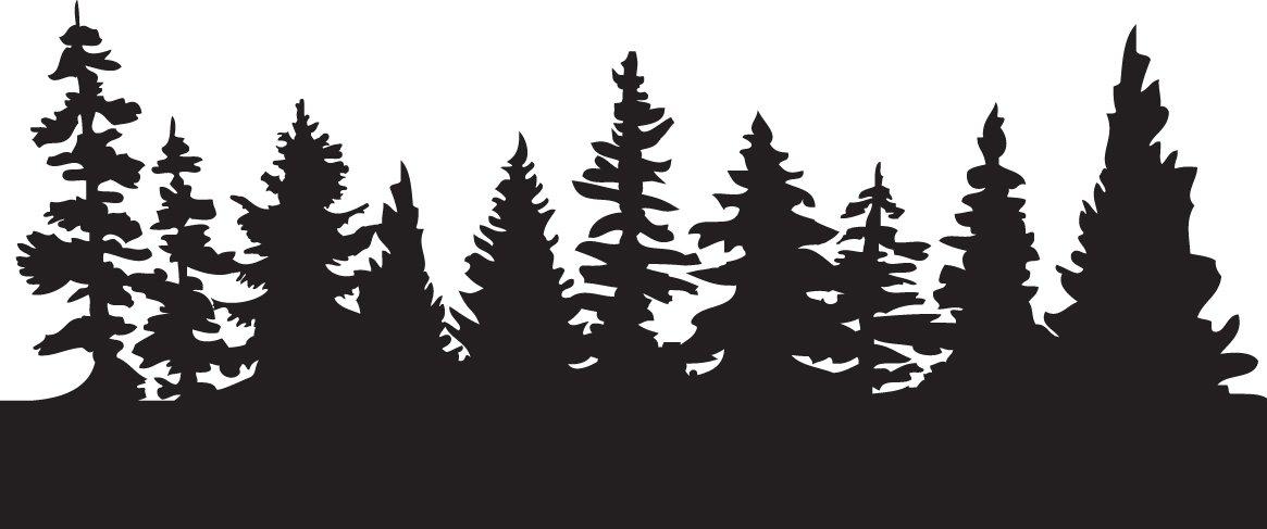 Free Tree Line Silhouette Tattoo, Download Free Clip Art.