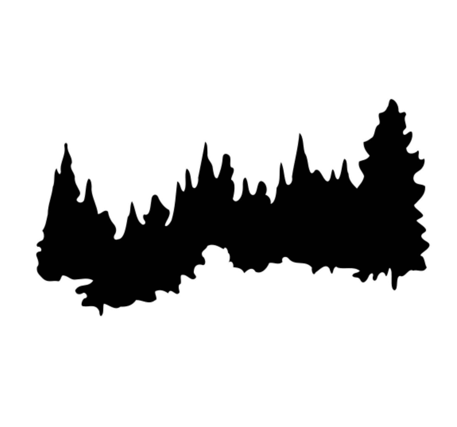 Tree line clipart 3 » Clipart Station.