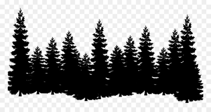 Free Forest Tree Line Silhouette, Download Free Clip Art.