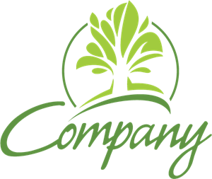 Company Abstract Tree Logo Vector (.AI) Free Download.
