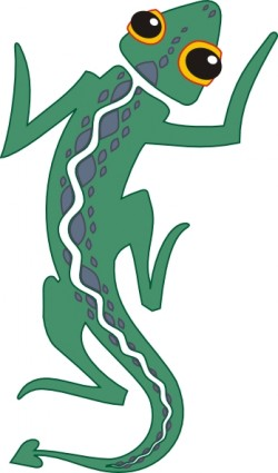 Emerald Tree Monitor Varanus Prasinus Clip Art Download.