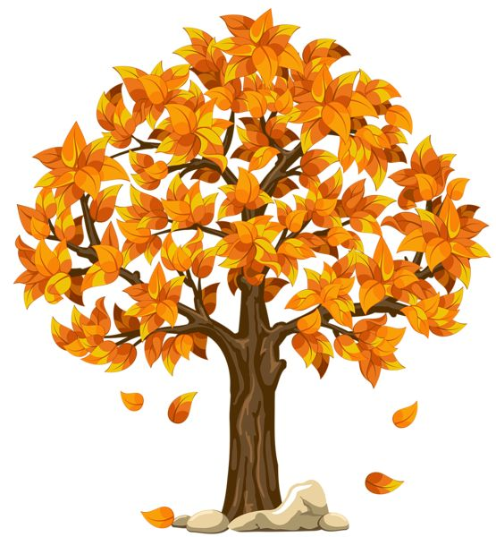 Transparent Fall Orange PNG Clipart Picture.