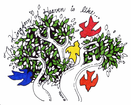 Tree of heaven clipart.