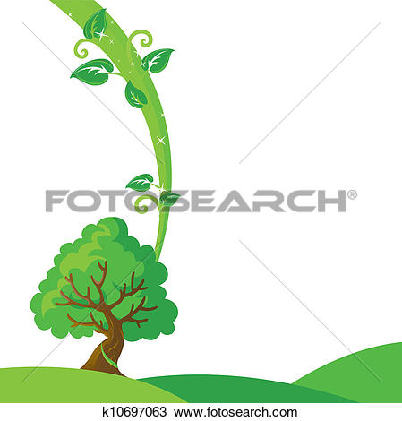 Clipart of Tree to the heaven k10697063.