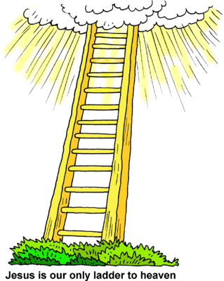 Image: Ladder to Heaven.