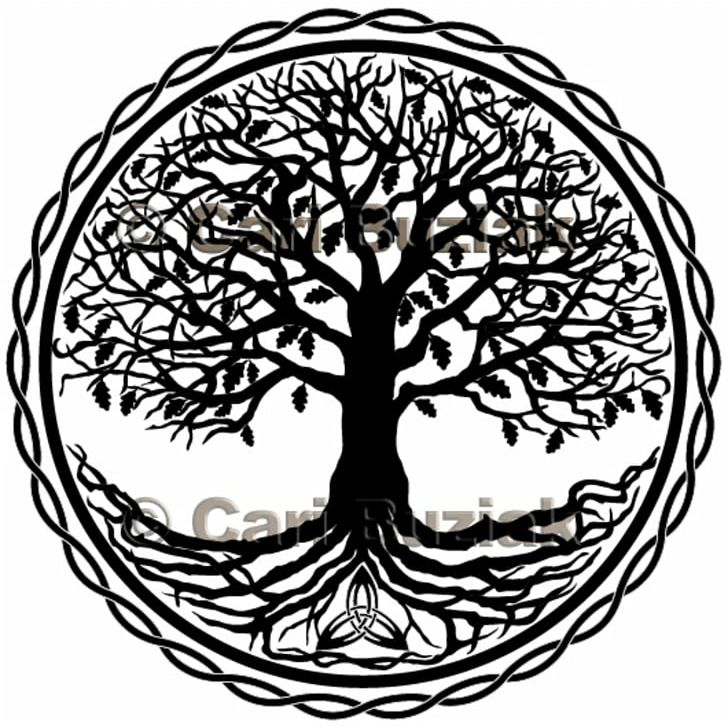 Tree Of Life Celtic Sacred Trees Symbol PNG, Clipart, Area.