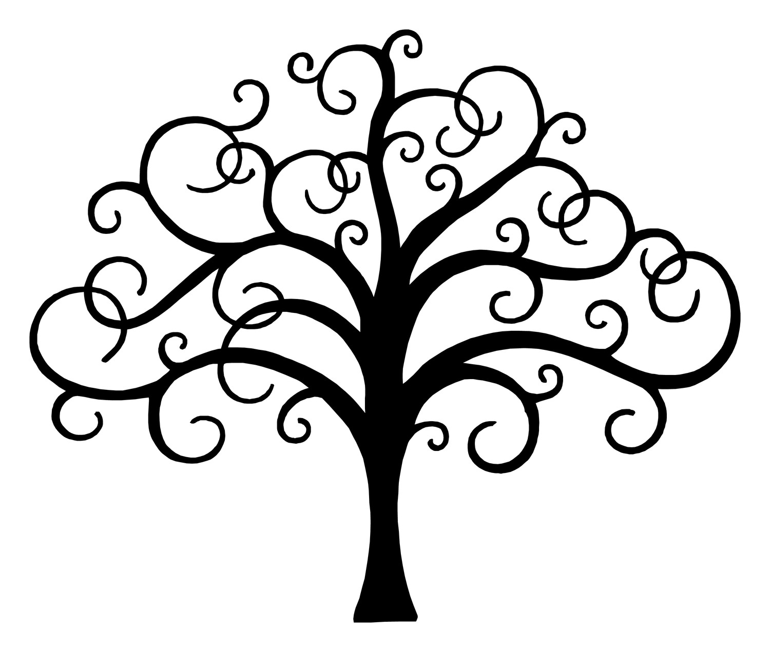simple tree. lds tree of life clipart clipart panda free.