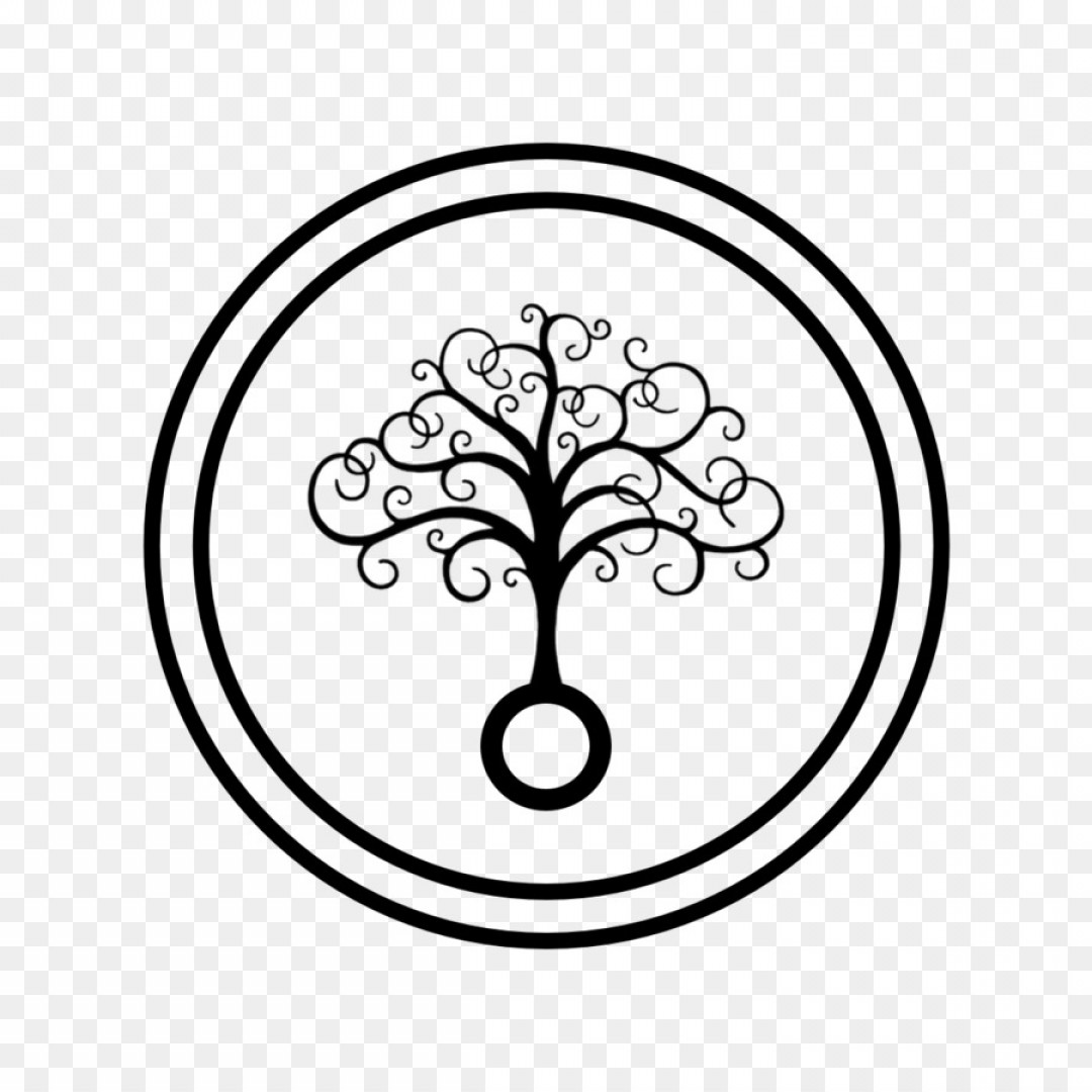 Silhouette Vector Tree Of Life.