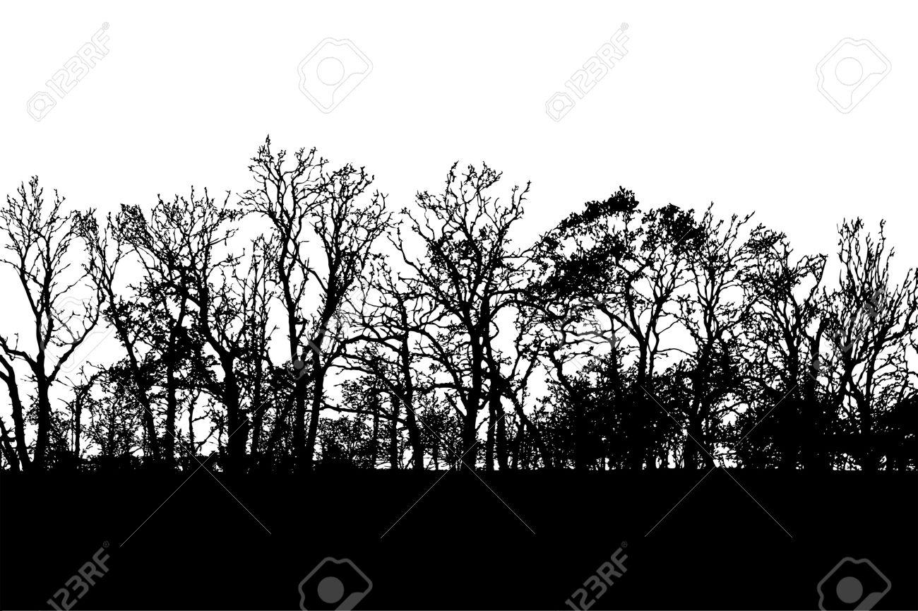 Horizon Silhouette Clipart.