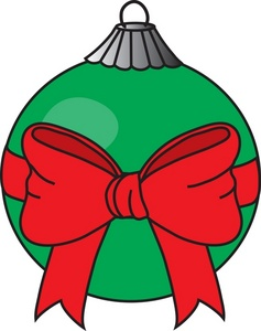 Christmas Ornaments Clipart.