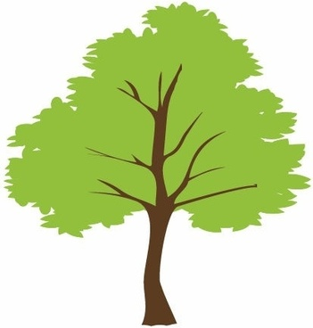 Tree outline free vector download (8,638 Free vector) for.