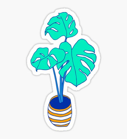 Tree Philodendron: Stickers.