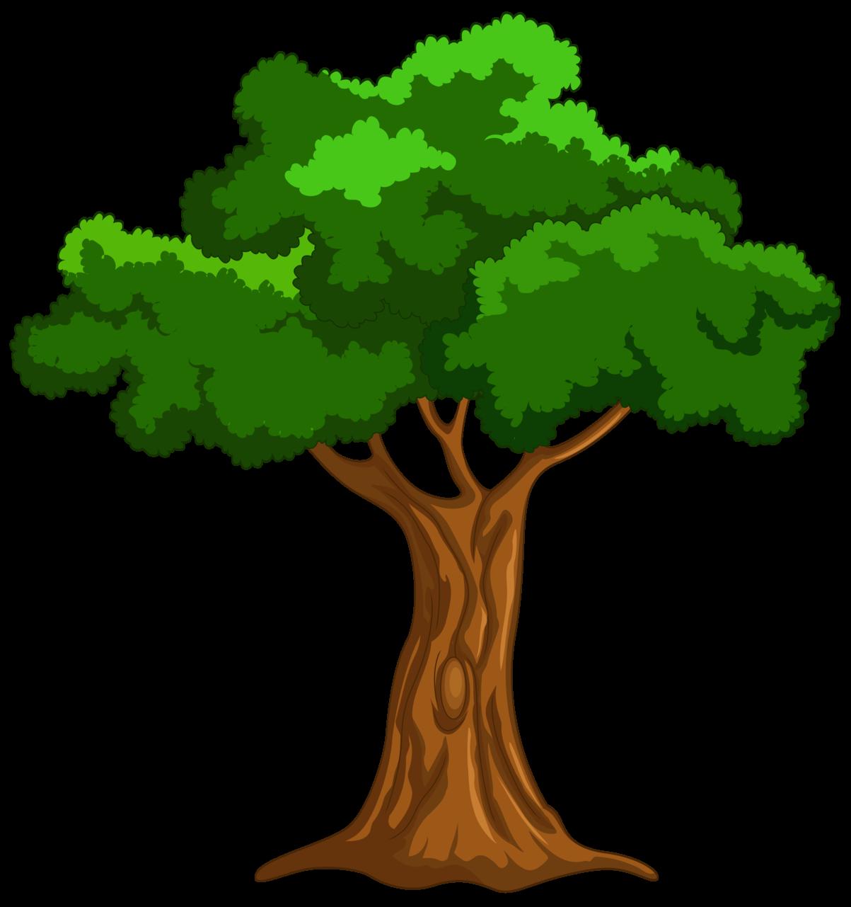 Cartoon Tree PNG Clip Art.