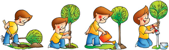 Tree planting clipart 3 » Clipart Station.