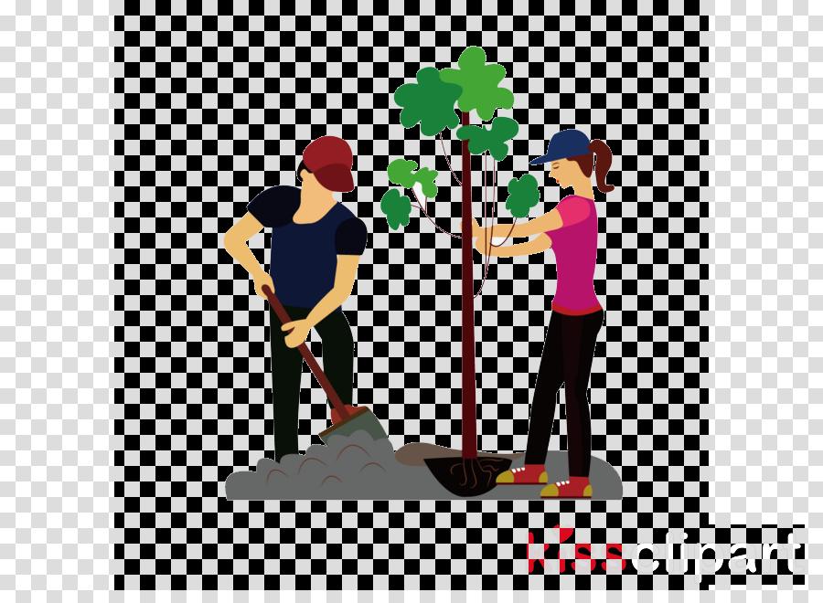 Trees Cartoon clipart.
