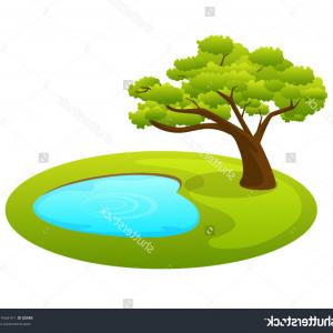 Excellent Royalty Free Stock Photos Pond Vector Clip Art Image.