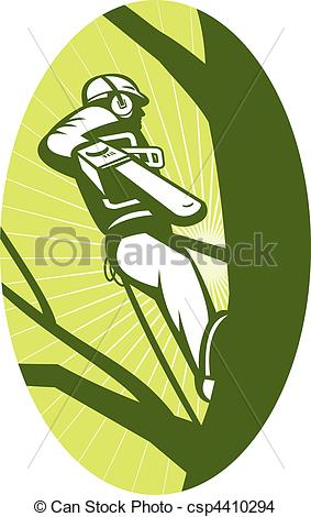Tree Pruning Service Clipart.