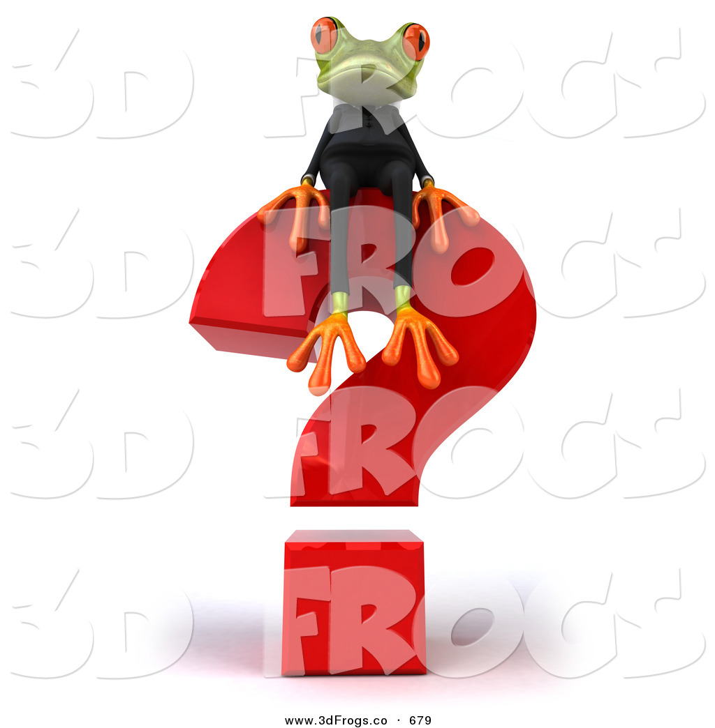 Royalty Free Springer the Tree Frog Character Stock 3d Frog.