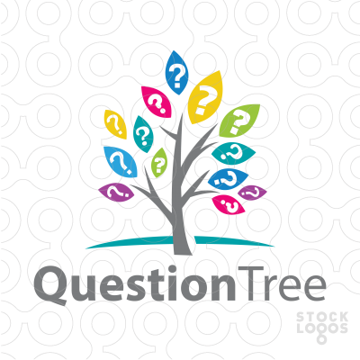Sold Logo: Question Mark Tree.