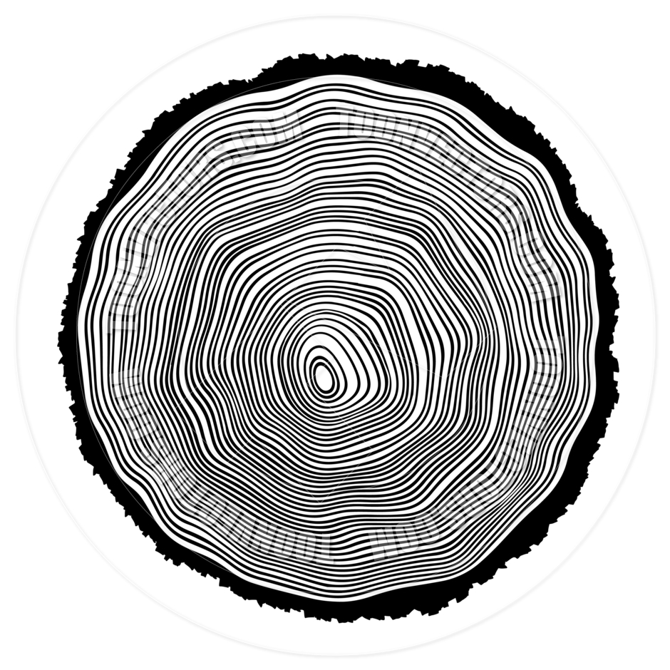 Tree Rings Background Illustration by pashabo.