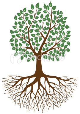 10+ Tree Roots Clipart.