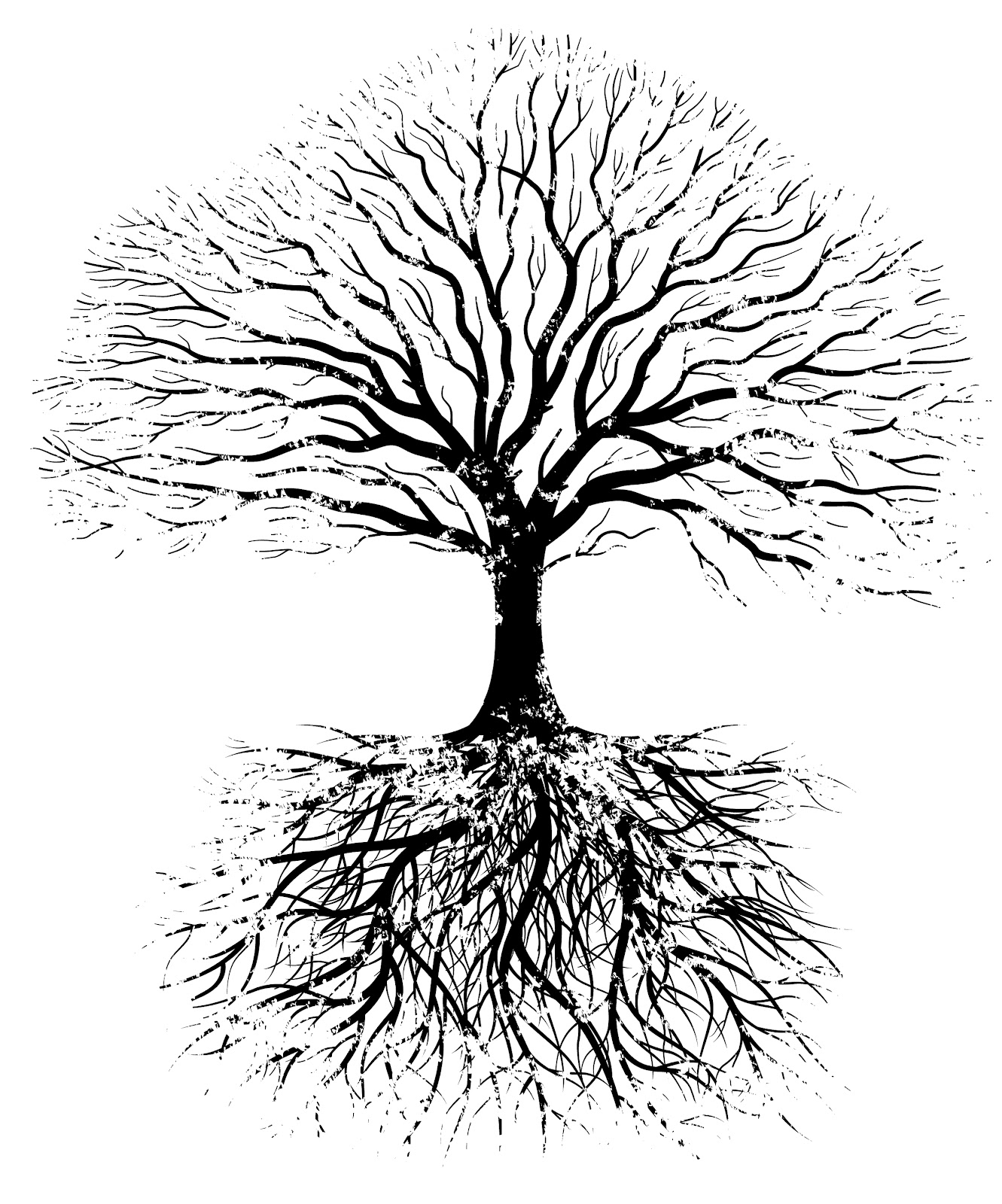 Similiar Tree With Roots Drawings Keywords.