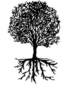 Similiar Black And White Tree With Roots Logo Keywords.
