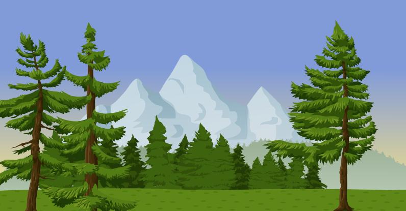 Pine Mountain Tree Clip art.