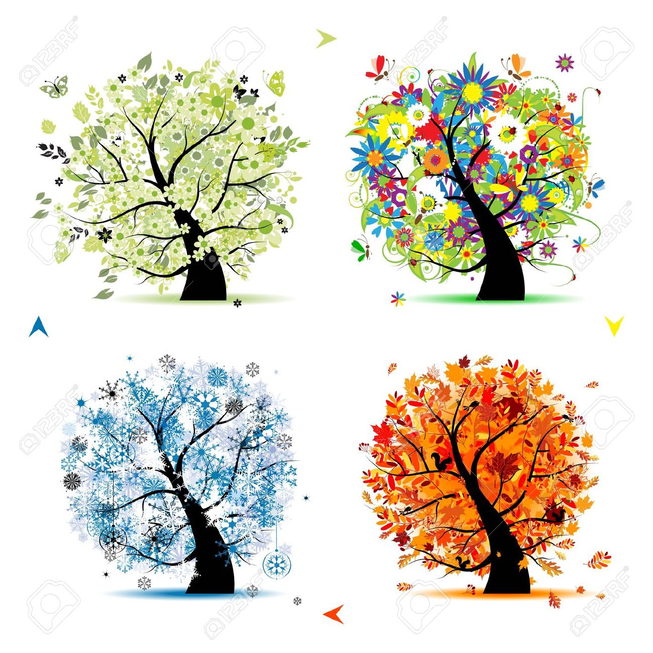 Images: Four Seasons Tree Clipart.